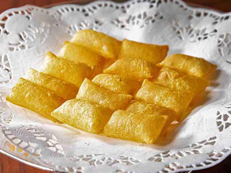 Patatas Souffle Dia de las patatas fritas restaurante Zalacain