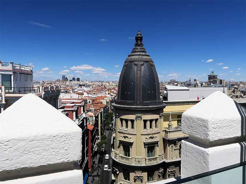 Vista desde el restaurante Picalagartos Planta 8