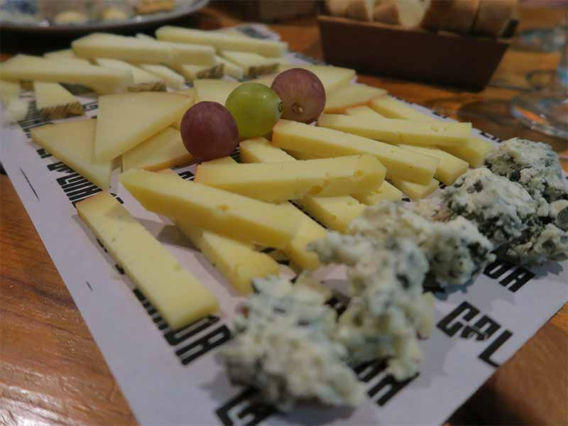 La Colmada Tabla de quesos