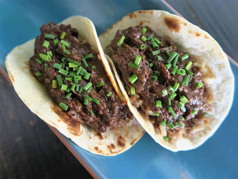 Le Qualite Tasca Tacos de morcilla