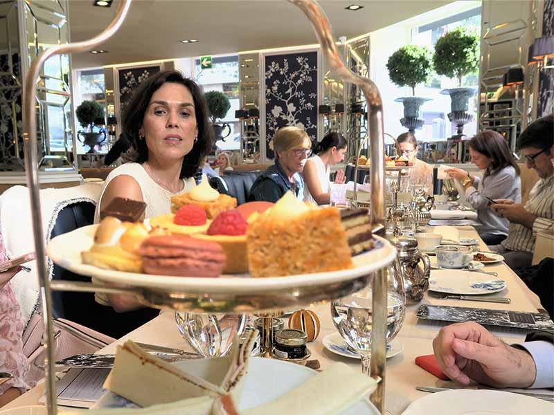 Tomar el te en Madrid Hotel Heritage todas las tardes