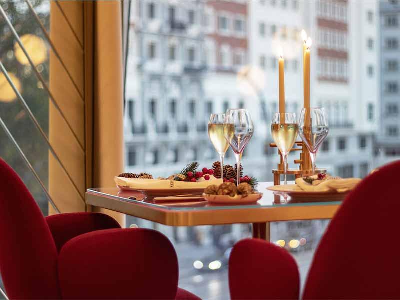 Restaurantes cena de Nochevieja 2019 Hotel Barcelo Torre de Madrid