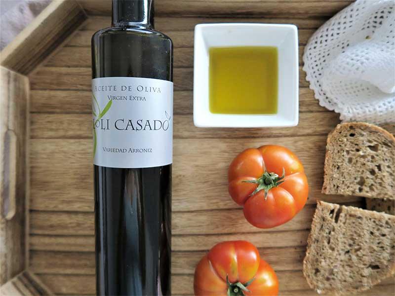 aceite de oliva virgen extra Bodega Loli Casado