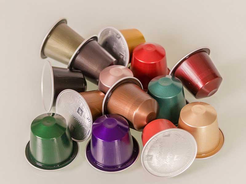 Cafeteras de capsulas de cafe variedades