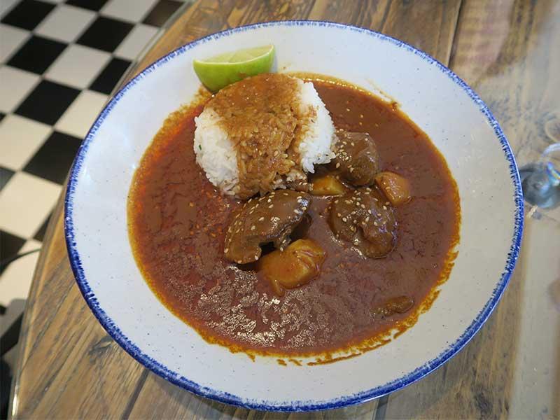 Carrilleras al curry Massaman