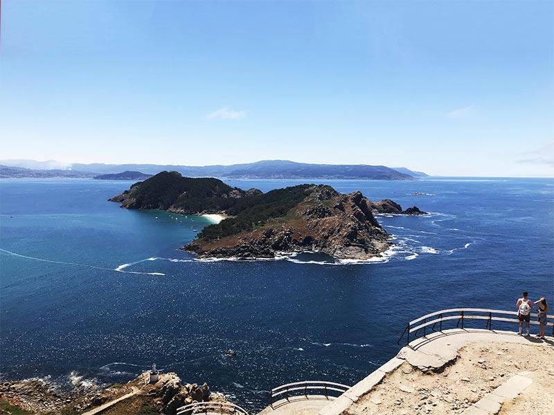 Islas Cies Pontevedra Faro Cies