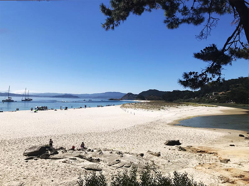 Islas Cies Pontevedra Playa Rodas