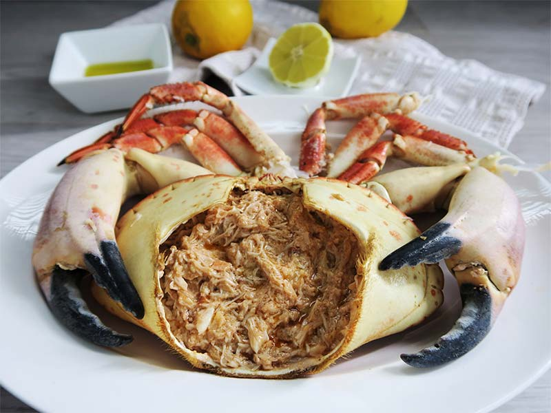 receta de buey de mar al natural