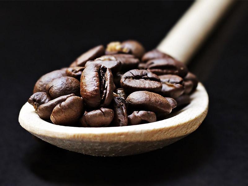 Cafe a granel cuchara