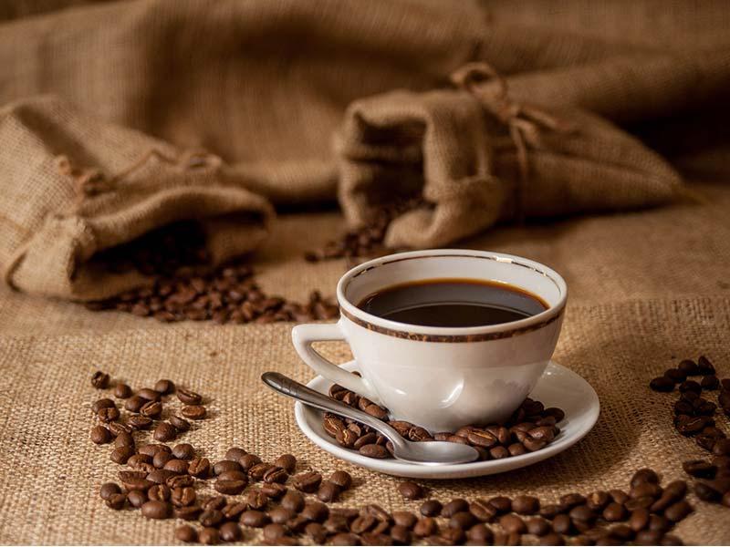 Cafe a granel taza de cafe