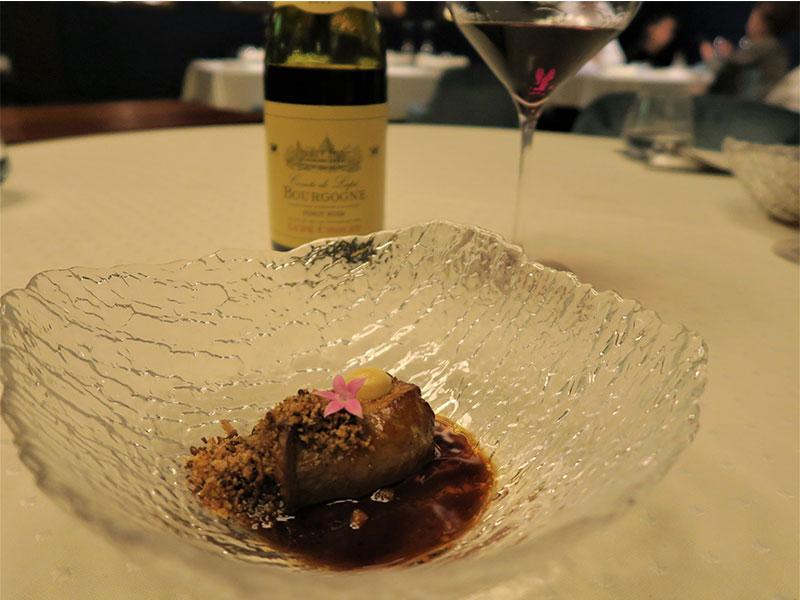 D·Origen Espacio Gourmet Foie navarro asado