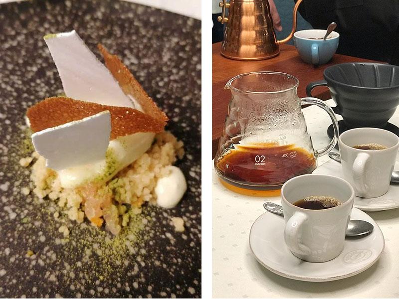 D·Origen Espacio Gourmet Viaje al oriente y Cafe baru black mountain infusionado en V-60