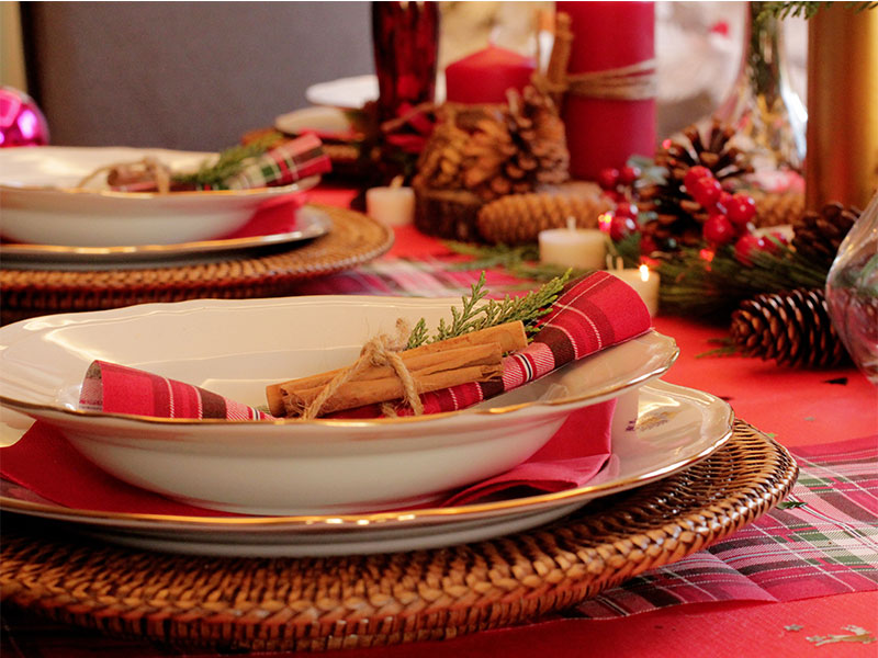 Mesa Cena de Nochebuena