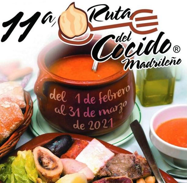 Ruta del cocido madrileño 2021 cartel
