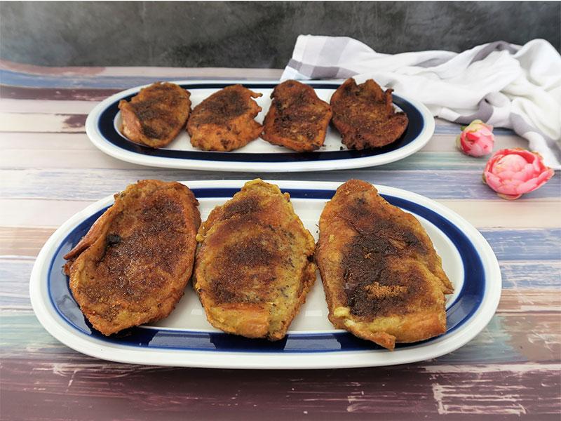 Torrijas infusionadas con mermelada