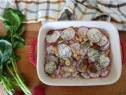 Ensalada de rábanos con yogur