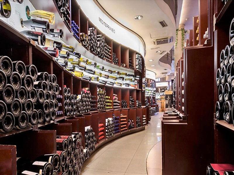 Lavinia tienda de vinos Madrid