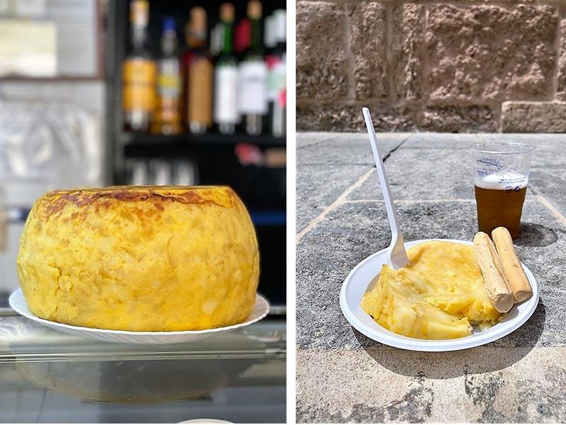 Bar Casa Santos la tortilla mas famosa de Cordoba