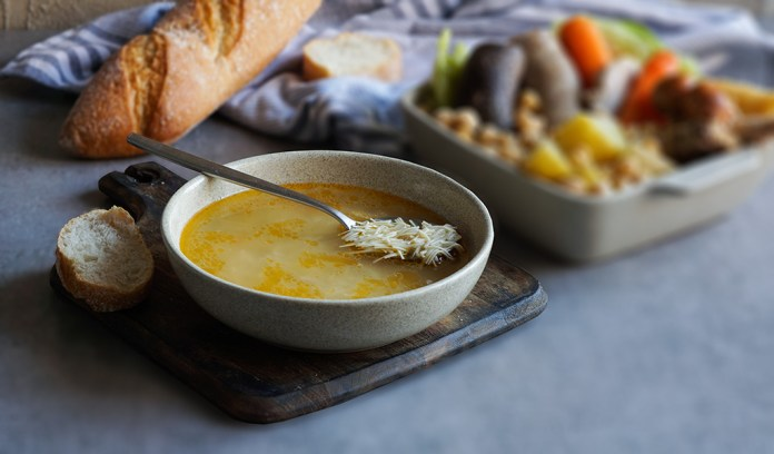 sopa de cocido