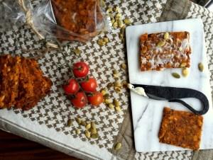 spicy glutenfrit knækbrød