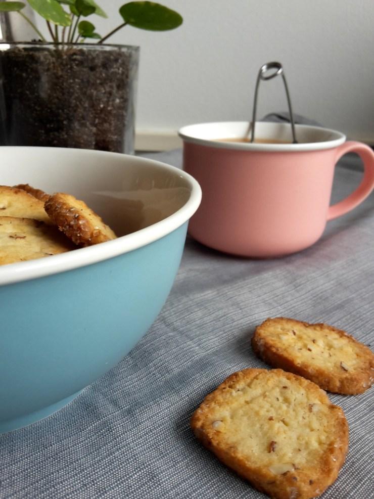 glutenfri, mandelsmåkager, cookies, almonds