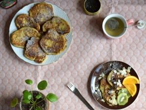 glutenfri og mælkefri pandekager