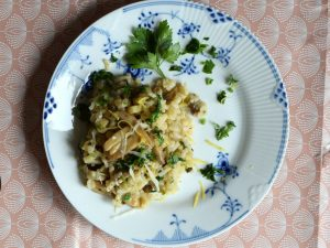 Risotto med champignoner, low fodmap, gastroequation, comfort food