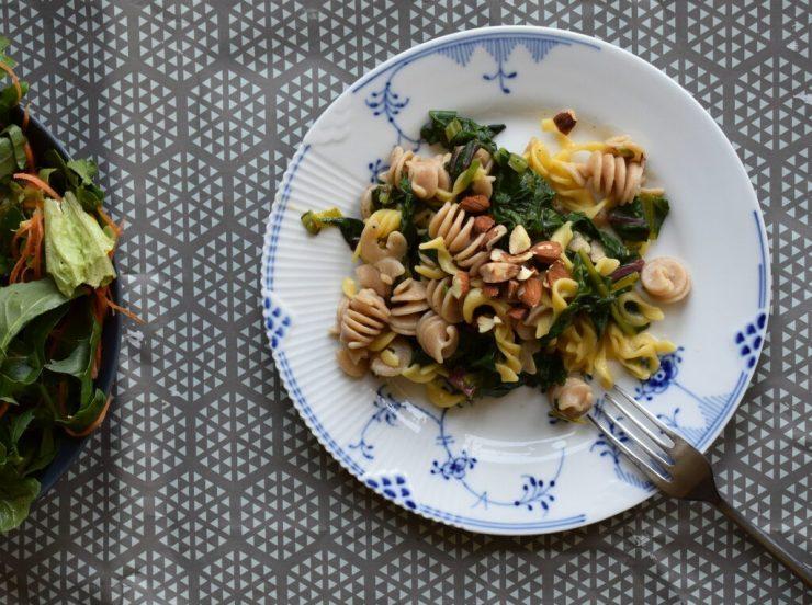 pasta med bladbeder