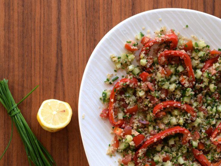 Tabbouleh med quinoa
