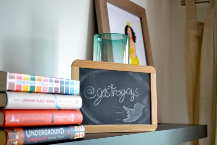 gastrogays, blackboard, london, books, london underground, manila luzon, chad sell