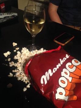 manhattan popcorn and wine
