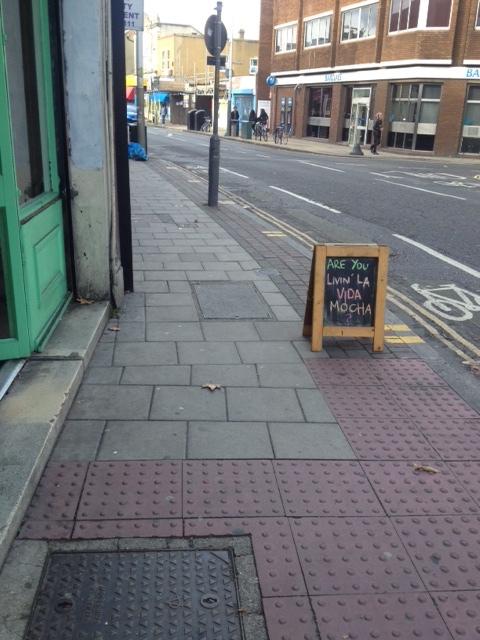 lerryns cafe peckham sign