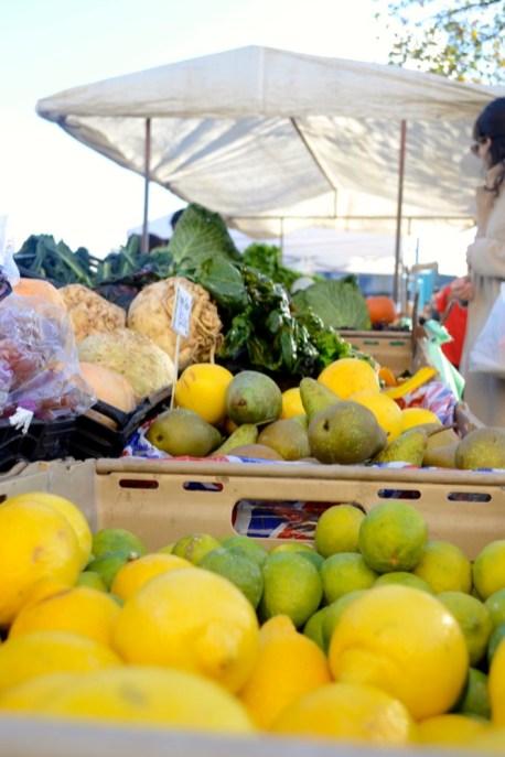 lemons, limes, pears, celeriac, chard