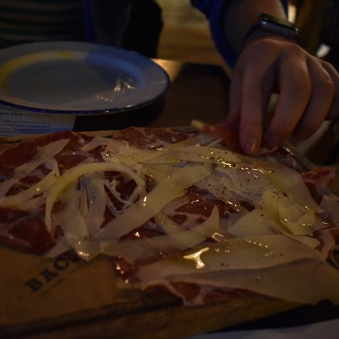 Bacaro Liverpool gastrogays restaurant charcuterie pecorino board cured meat cheese