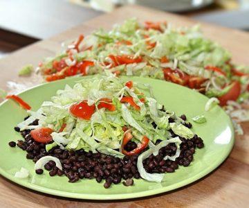 A makrobiotikus adzuki bab salátával