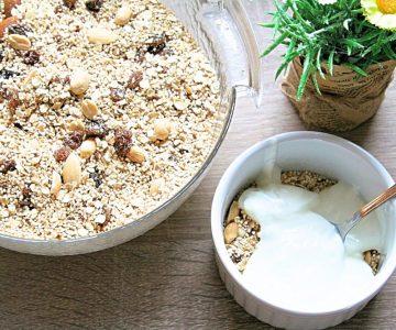 Szuperfood reggelire: Amarantos müzli