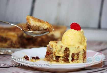 Vanília fagyival és tojáslikőrrel mennyei