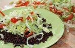 Adzuli bab salátával