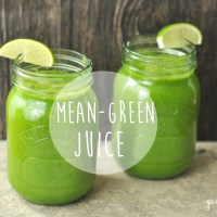 Detox Day 1... Mean Green Juice