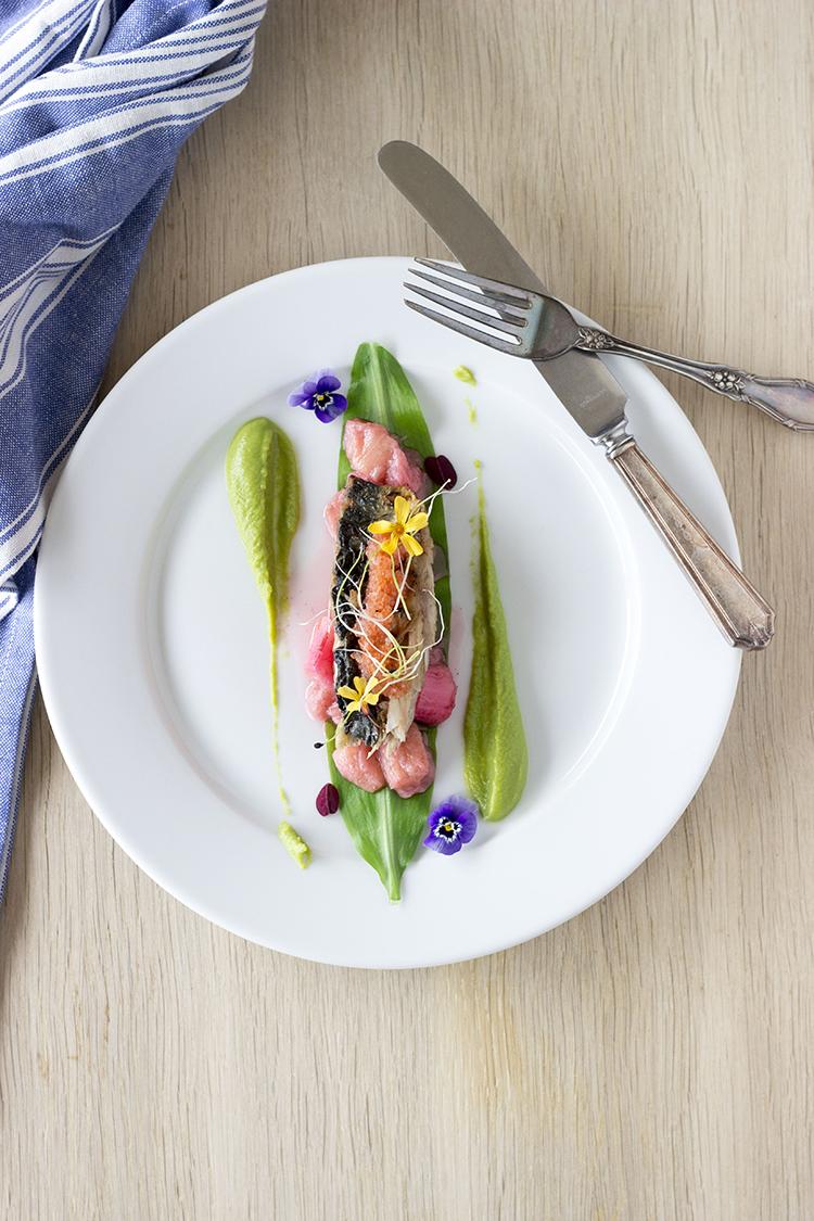 Makrel og rabarber