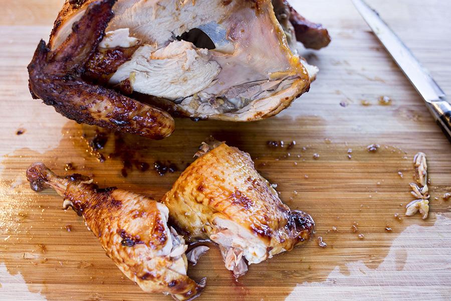 Udskåret kylling