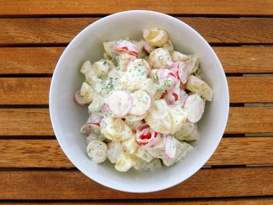 opskrift kartoffelsalat