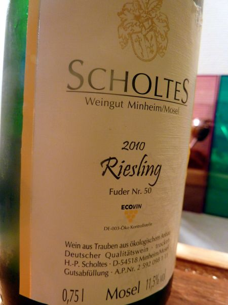 Scholtes Riesling Mosel