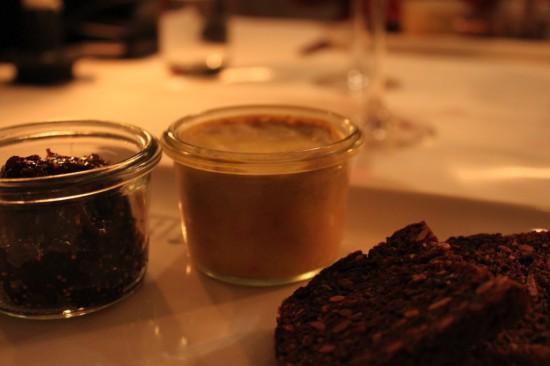 Foie Gras med chutney af figner og ristet rugbrød