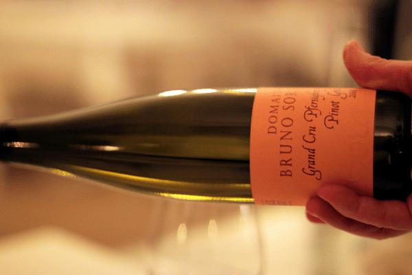 Bruno Sorg Alsace Grand Gru - Pinot Gris - aftenens bedste vin...
