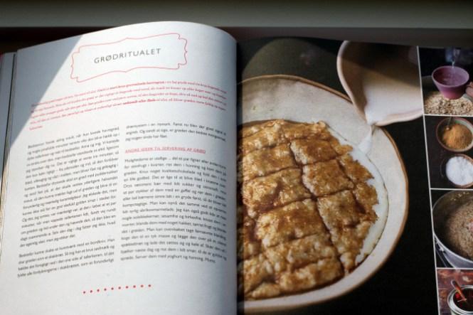 Ja, ikke det bedste billede i bogen, men det understreger hans tanker om Comfort-Food! Barndomsminder...