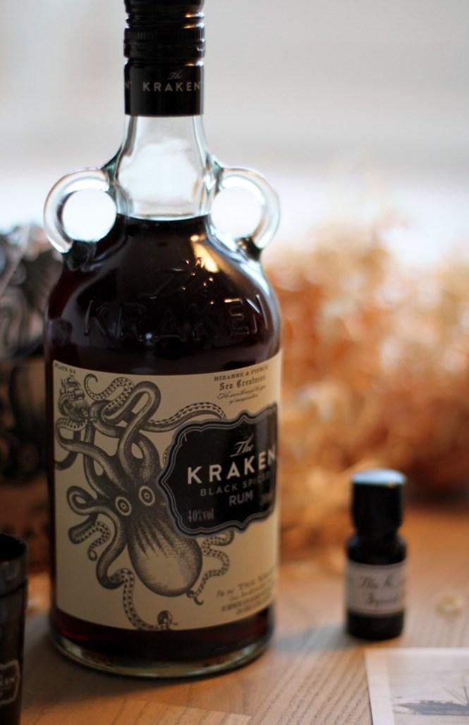 Kraken Spiced Rum...