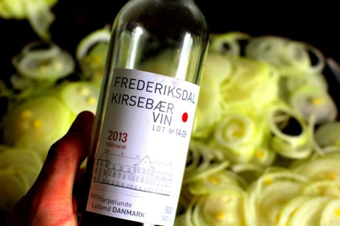 Hvis du tilfældigvis har en sjat Kirsebærvin i overskud så brug det...