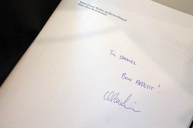 En lille hilsen fra Martin, himself.