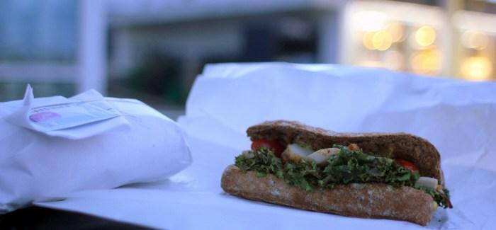 Mad på farten: Overraskende frisk sandwich fra Q8